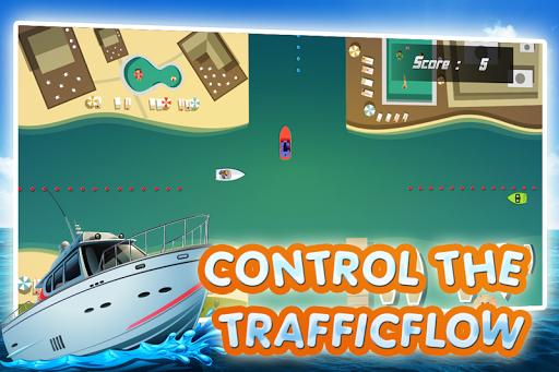 Boat Traffic Rush
