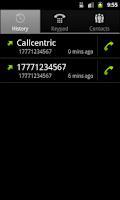 Screenshot of Callcentric