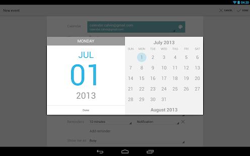 Google Calendar Screenshot 11