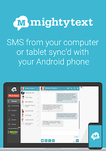 SMS from PC / Tablet & MMS Text Messaging Sync- screenshot thumbnail