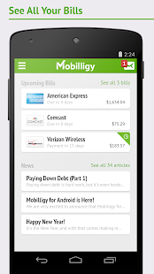 Mobilligy: Pay bills for free - screenshot thumbnail