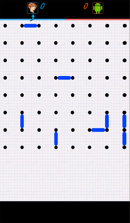DotBox, Dots and Boxs- screenshot