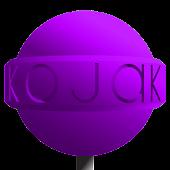 CM12 Violet Kojak Theme