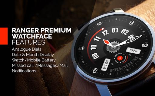 Rangers Premium WatchFace Free