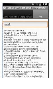 Güncel İSG Hiz. Yönetmeliği- screenshot thumbnail