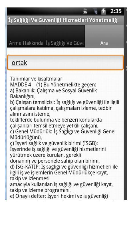 Güncel İSG Hiz. Yönetmeliği- screenshot