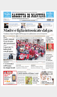 Screenshot of La Gazzetta di Mantova