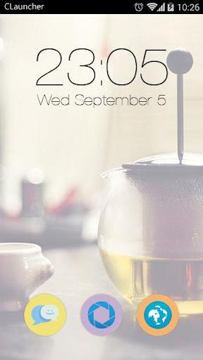 Tea Time C Launcher Theme