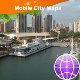 Maracaibo Street Map