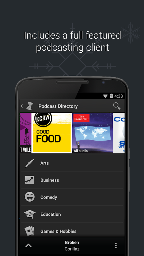 doubleTwist Player & Podcasts - screenshot
