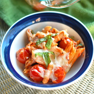 Caprese Penne Adapted From How Sweet It Is Recipe