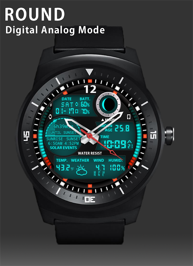 A47 WatchFace for Android Wear