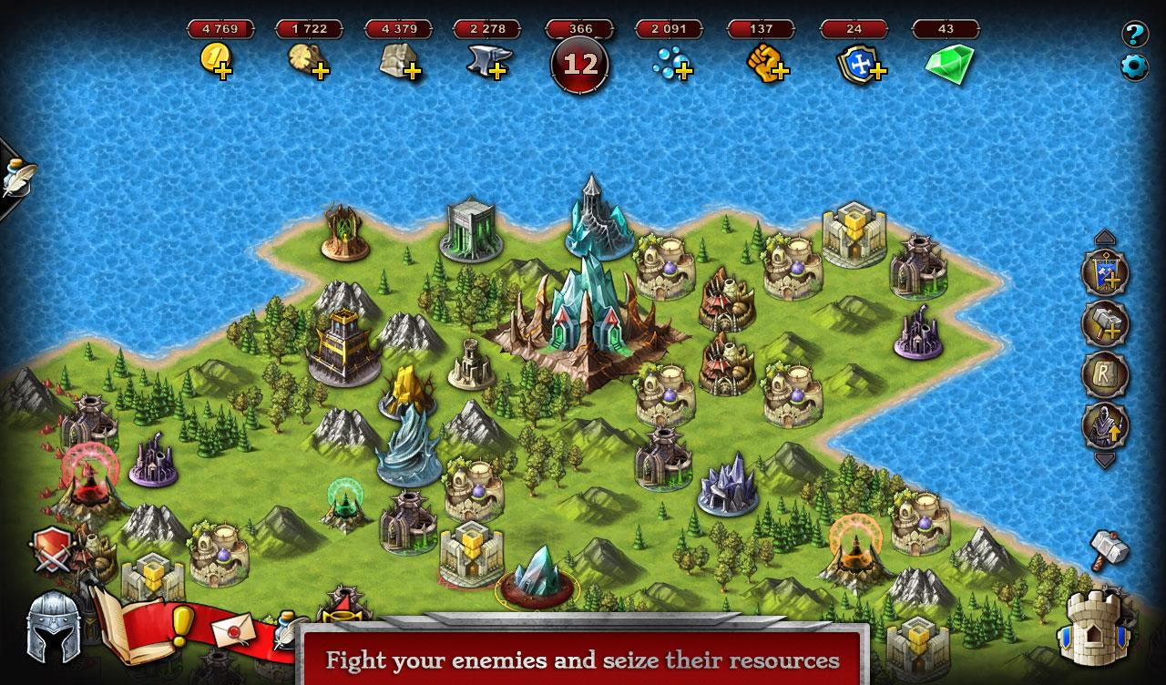 💥 Emporea: Realms of War & Magic- screenshot