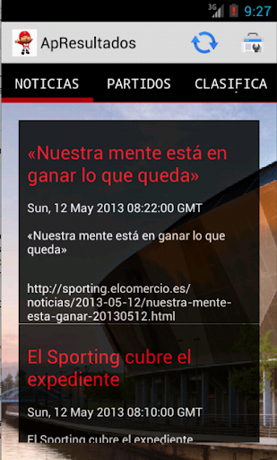 Sporting Noticias Resultados