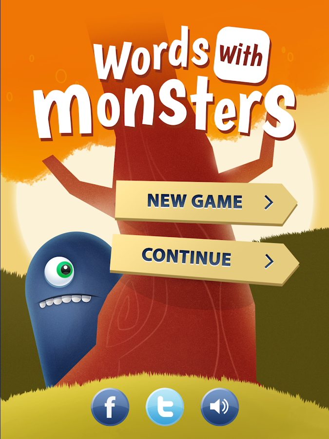Words With Monsters - screenshot