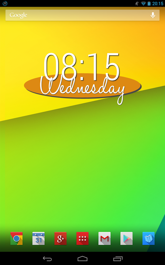 Clean & Simple UCCW Skin- screenshot