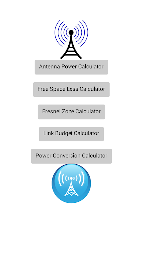 Radio (RF) Link Budget Calculator, Cable Loss Calculator, Free Space Loss -www.afar.net