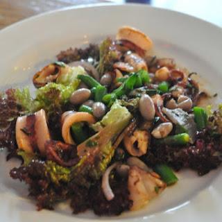 Sautéed Squid Salad With Salsa Verde