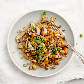 Mushrooms & Wheatberries