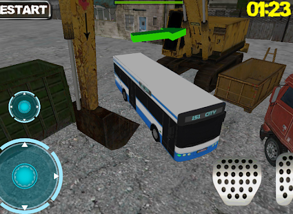Ultra 3D Bus Parking- screenshot thumbnail