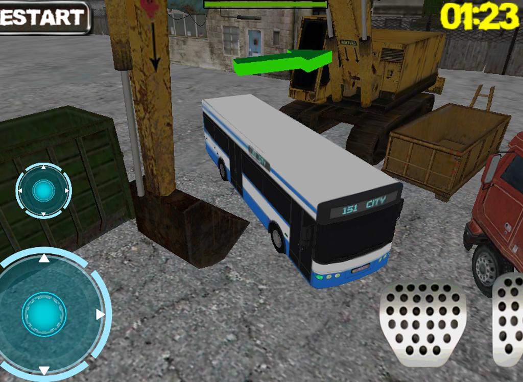 Ultra 3D Bus Parking - screenshot