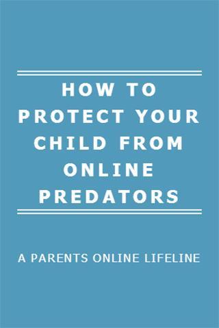 Protect Kids for Online Danger