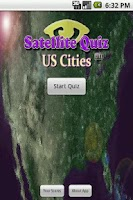 Screenshot of Satellite Quiz: US Cities Lite