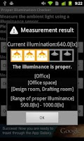 Screenshot of Proper illumination Checker