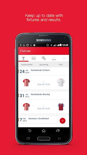 Fan App for Sunderland AFC