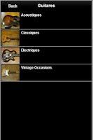 Screenshot of Guitar Store