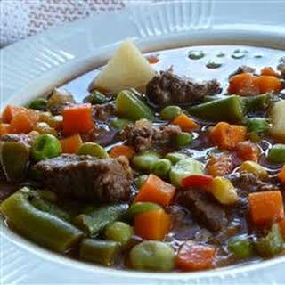 Texas Beef Soup.