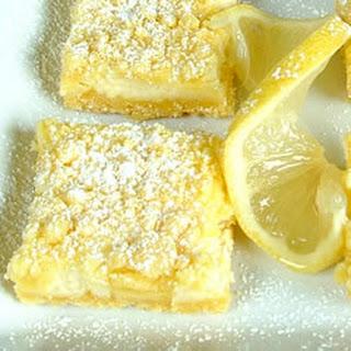 Easy Lemon Bars.