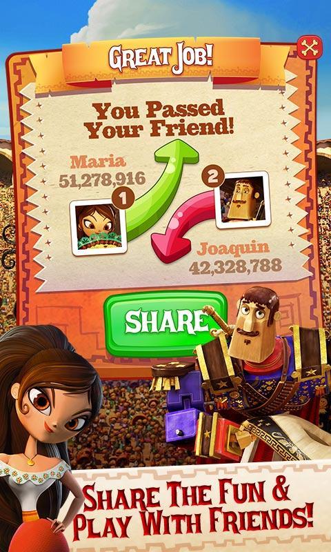Sugar Smash: Book of Life - Free Match 3 Games. Screenshot 3