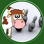 Farm Animals bowling for child