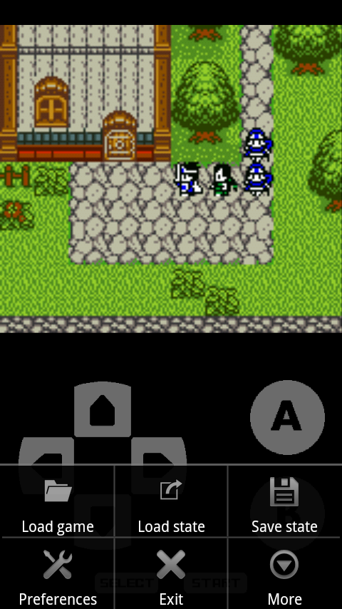 John GBC - GBC emulator - screenshot