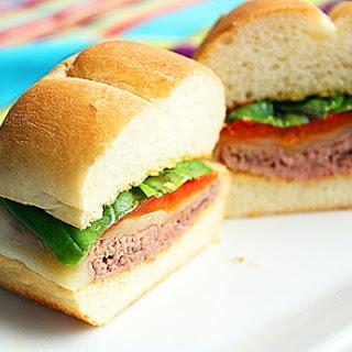 Italian Roast Beef Sandwiches.