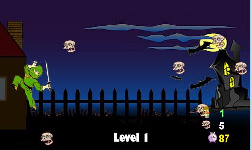Ninja and the Army of Skulls