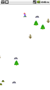 A SkiFree Clone - screenshot thumbnail