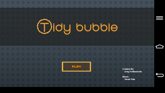 Tidy Bubble- screenshot thumbnail
