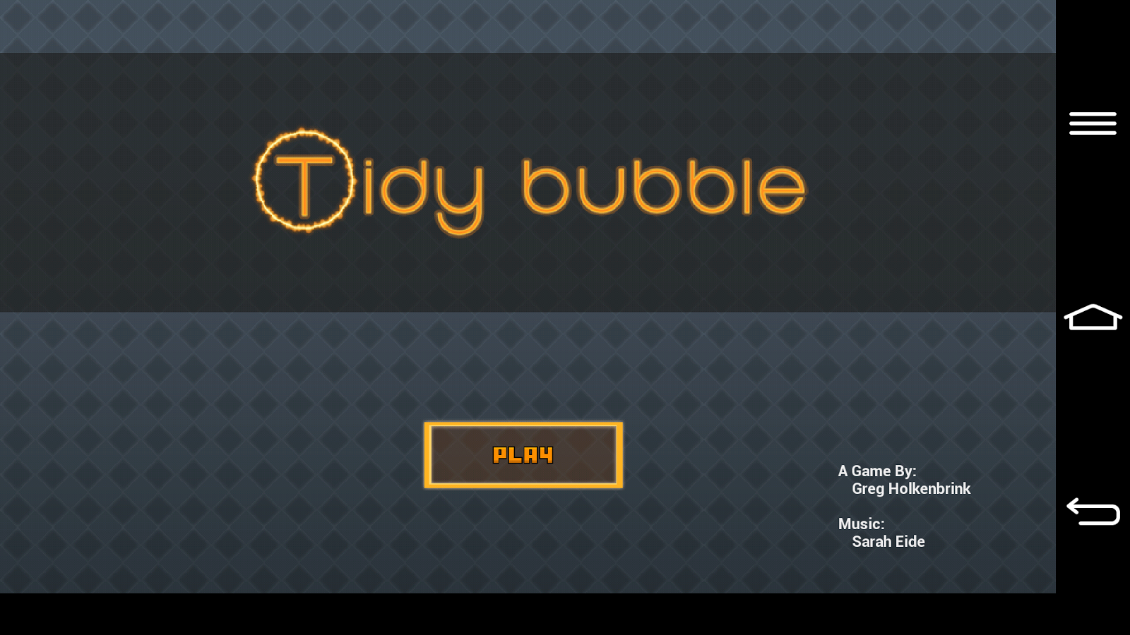Tidy Bubble- screenshot