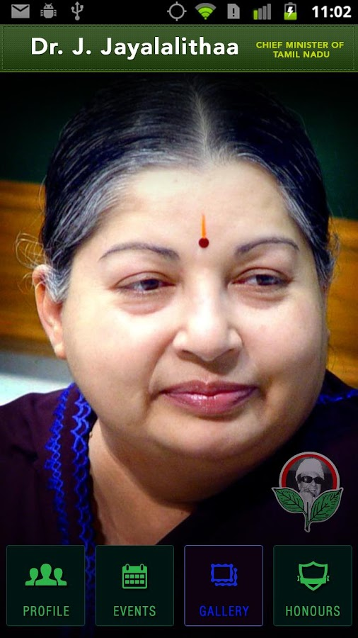 J.Jayalalitha Chief Minister - screenshot