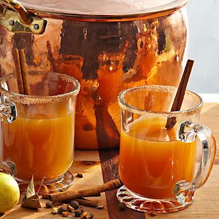 Hot Spiced Rum Cider