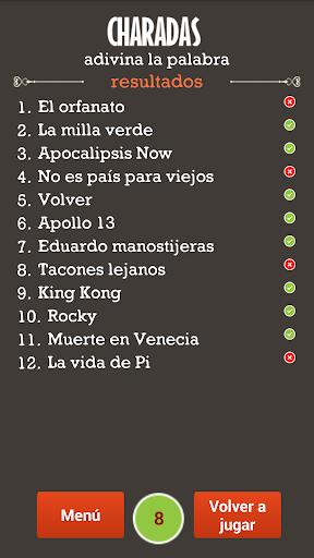 Charadas Adivina la Palabra 1.2 screenshots 6