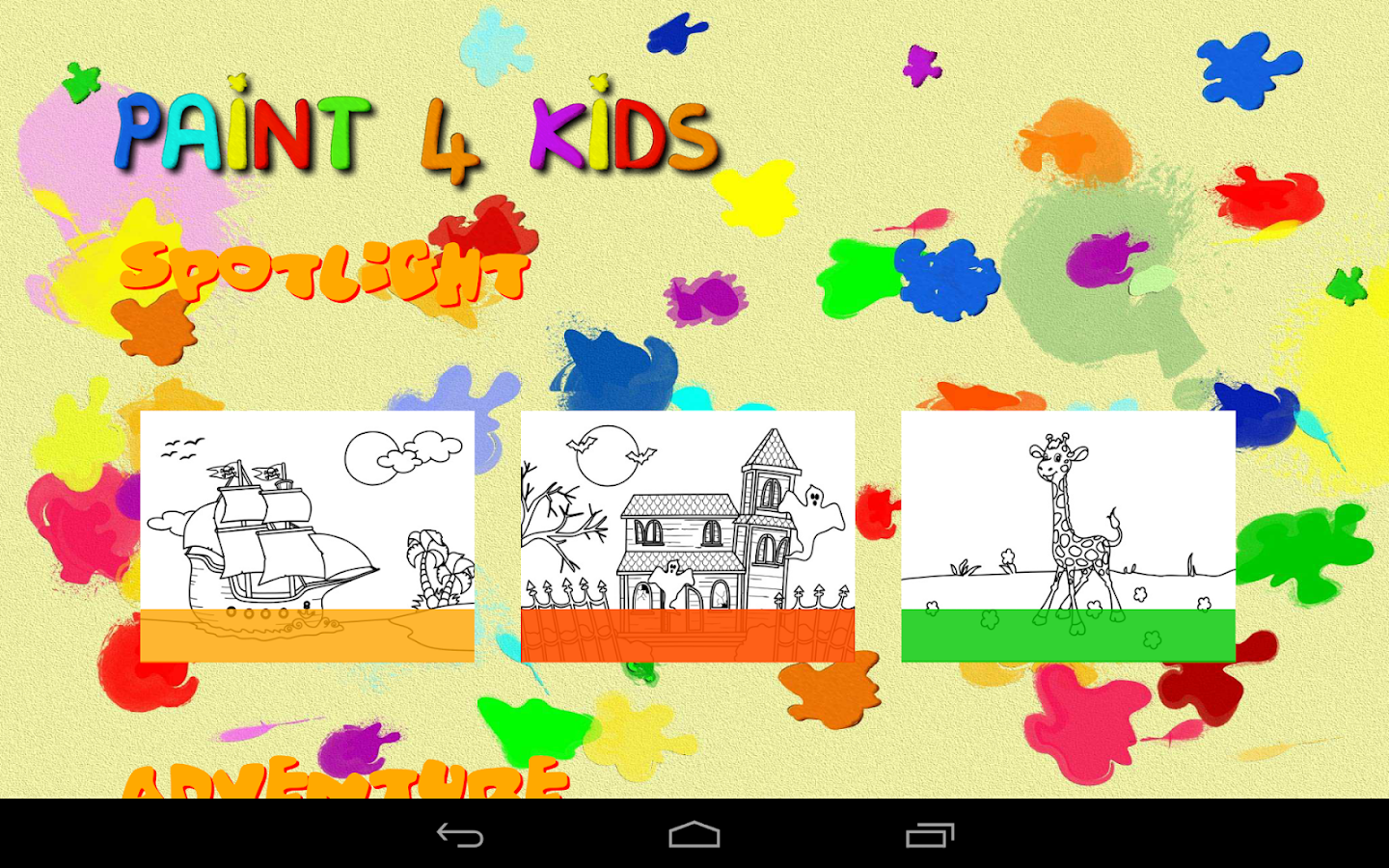 Paint 4 Kids- screenshot