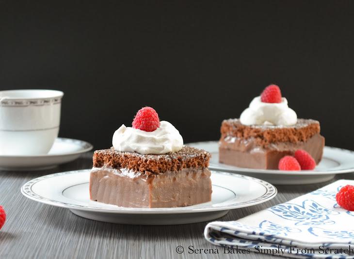Magic Chocolate Custard Cake Recipe