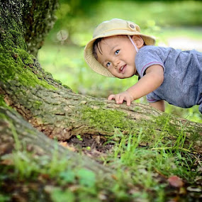 Adventures in the jungle by Darlis Herumurti - Babies & Children Children Candids