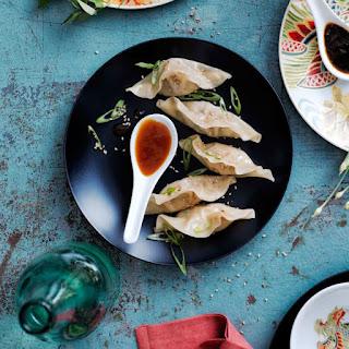Shrimp and Vegetable Dumplings.
