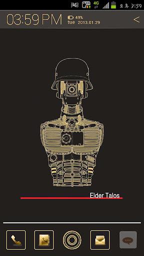Elder Talos 아톰 테마