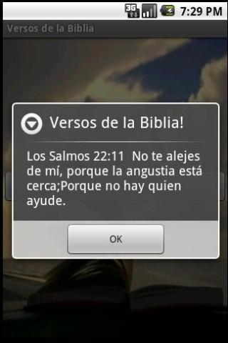 Versos de la Biblia Libre - screenshot