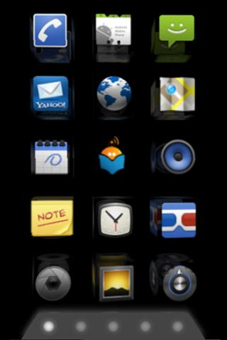 homescreen 3D (full version)- screenshot